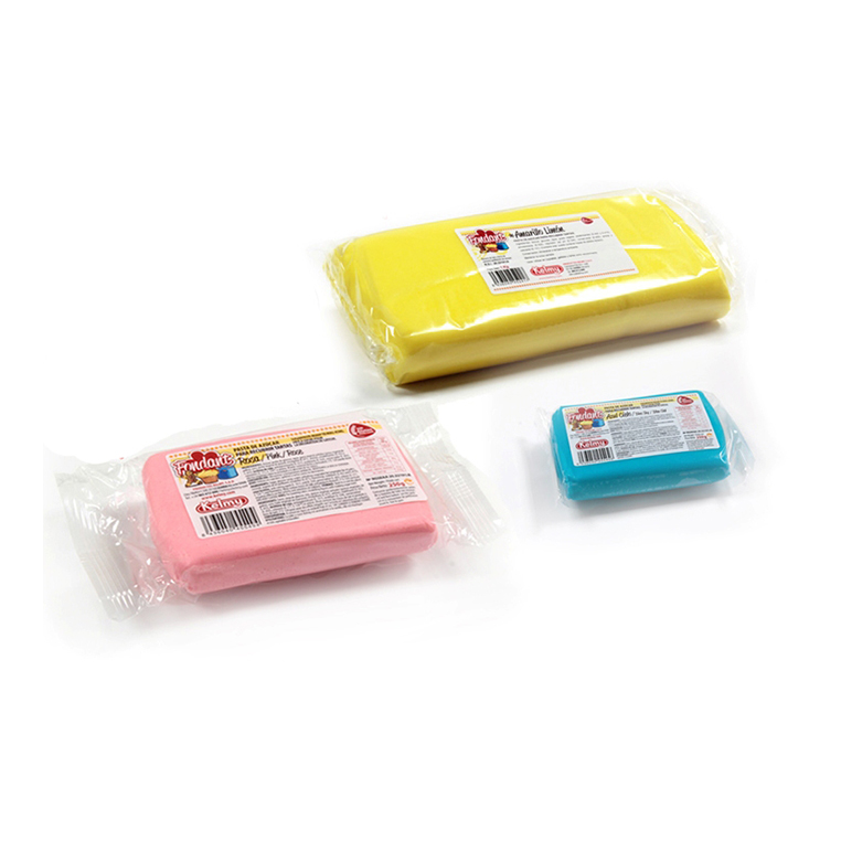 An image of an assortment of fondant icing in different colours