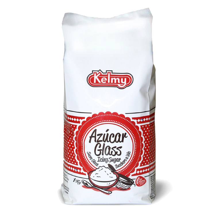 An image of a small bag of icing sugar